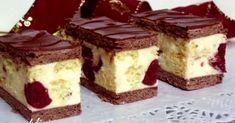 Konyakmeggyes szelet babapiskótával recept képpel. Hozzávalók és az elkészítés részletes leírása. A konyakmeggyes szelet babapiskótával elkészítési ideje: 40 perc My Recipes, Sweet Recipes, Cookie Recipes, Dessert Recipes, Hungarian Desserts, Hungarian Recipes, Delicious Desserts, Yummy Food, Tasty