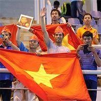 CĐV cho đội tuyển U19 Vietnam