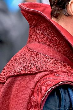 Detail of Dr Strange cloak - Visit now to grab yourself a super hero shirt today at 40% off!