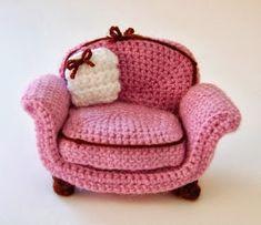 Rosa acessórios em tricô & crochê: Fofurices