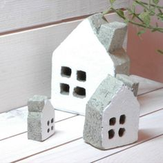 .little clay houses