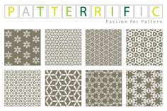 8 Seamless Grey Floral Tile Patterns Set - http://www.welovesolo.com/8-seamless-grey-floral-tile-patterns-set/