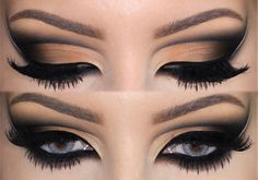 Arabian Inspired makeup dicasdemaquiagem.vlog.br