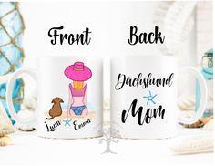 Personalized Dachshund Mug, Dachshund Mug, Dachshund Gifts, Dachshund Mom Gift, Dachshund Parent Gift, Dachshund Mug, Doxie Mug, Doxen Mug by MysticCustomDesignCo on Etsy
