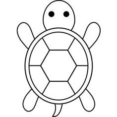 Turtles Clipart Black And White Clipart Turtle Coloring Pages Easy Coloring Pages Turtle Outline
