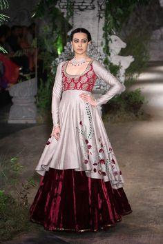 Indian Fashion - Anju Modi | India Couture Week 2017