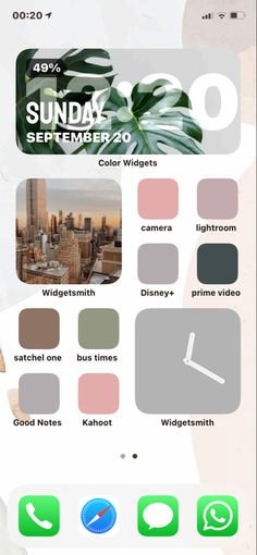 Iphone Home Screen Layout, Iphone App Layout, Iphone App Design, Ios Design, Walpapers Iphone, Ios Phone, Iphone Icon, Iphone Wallpaper App, Iphone Wallpaper Tumblr Aesthetic