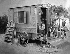 Carnival & Medicine Wagons ~ The life of a gypsy is never dull or boring ~ ♥