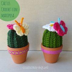 Nuevo post en mi blog os enseño el paso a paso para hacer estos preciosos cactus con mariposa no te lo puedes perder !!! #cactus #crochet #amigurumi #crochetcactus #butterfly #flor #maceta #washitape #decoracion #instalove #tutorial #pattern #freepattern #pasoapaso #handmade #madewithlove #cactusaddict #cosicasraquel www.cosicasraquel.blogspot.com.es