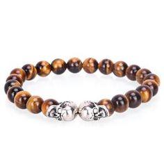 Guitar Pendant Necklace - Mr Peachy Tiger Eye Bracelet, Skull Bracelet, Bracelets For Men, Beaded Bracelets, Eye Stone, Necklace Price, Silver Roses, Everyday Look, Pendant Necklace