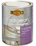 Pot de Badigeon Libéron disponible en 1 L prix 21.60 € et 2.5L 45.50 € en grande surface bricolage