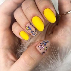 100 Trendy Stunning Manicure Ideas For Short Acrylic Nails Design - Page 8 of 101 - Yellow Nails - Cute Acrylic Nails, Acrylic Nail Designs, Cute Nails, Nail Art Designs, Summer Nail Designs, Short Nails Acrylic, Short Acrylics, Stylish Nails, Trendy Nails