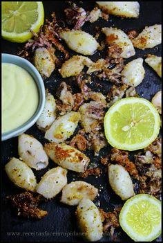 Lulas grelhadas picantes com maionese de alho ♥♥♥ - http://gostinhos.com/lulas-grelhadas-picantes-com-maionese-de-alho-%e2%99%a5%e2%99%a5%e2%99%a5/