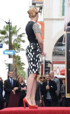 Scarlett Johansson Photos - Scarlett Johansson Honored On The Hollywood Walk Of Fame - Zimbio