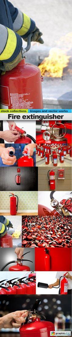 Fire extinguisher 15 x UHQ JPEG  stock images