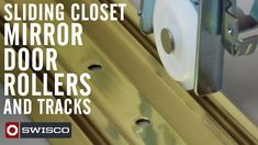 In this video we show you a couple examples of the different types of sliding closet mirror door rollers and tracks. Be sure to inspect your original hardware closely when researching potential replacement solutions.
