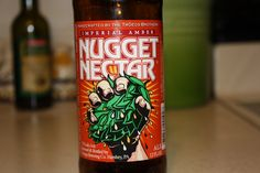 Troegs Brewing Company Nugget Nectar.  Incredible citrus and grassy aromas and flavors.  Lots of hops in this one, yet incredibly smooth and delicious.  Check out my post!