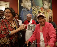 Best fried chicken in New Orleans award goes to Dooky Chase's Restaurant... Ms Leah is 91 and still REIGNING Supreme!