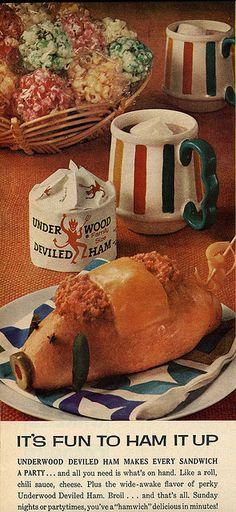 Devil Pig by felixtcat, via Flickr - worst food styling ever.