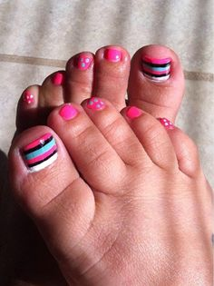 Did It Myself Pedicure by sephoraluvr from Nail Art Gallery