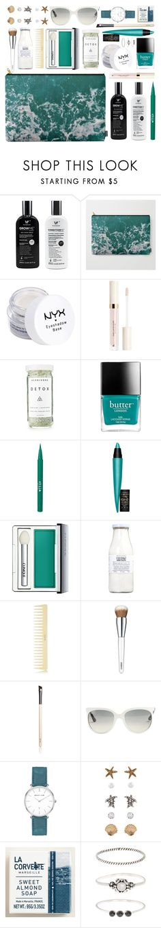 What's In My Pouch by by-jwp on Polyvore featuring beauty, Clinique, NYX, MAC Cosmetics, Stila, Chantecaille, Rituals, Cost Plus World Market, Butter London and AERIN