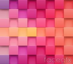 Solid concave background vector