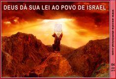 LIÇÃO 01 – DEUS DÁ SUA LEI AO POVO DE ISRAEL by Escola Bíblica Dominical via slideshare