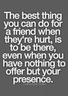 So true!!! ♥ my friends who have been there for me. I have a handful of friends but this is why we've been friends for 15 - 20 years