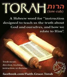 """Torah: Instructions for having life. Do away with Torah, do away with our true God, """"Elohim's"""" instructions. It's as simple as that. Biblical Hebrew, Hebrew Words, Hebrew Writing, Hebrew Prayers, Messianic Judaism, Learn Hebrew, Bible Knowledge, Bible Truth, Thats The Way"""