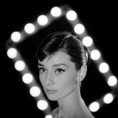 Portrait of Actress Audrey Hepburn Premium Photographic Print at AllPosters.com