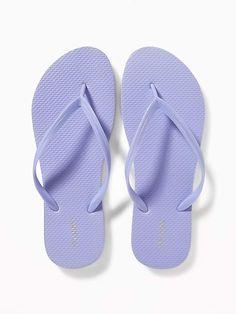 05ed8b9a89194b Old Navy Classic Pastel-Color Flip-Flops for Women Bridesmaid Flip Flops