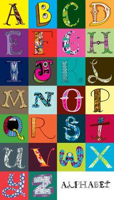 Alphabet-print - Chris Piascik