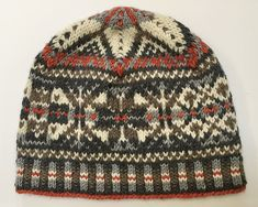 Ravelry: Whimsical Fair Isle Hat pattern by Chiaki Hayashi hat fair isle Whimsical Fair Isle Hat pattern by Chiaki Hayashi Beanie Knitting Patterns Free, Fair Isle Knitting Patterns, Fair Isle Pattern, Knitting Charts, Loom Knitting, Free Knitting, Knitting Machine, Crochet Chart, Crochet Granny