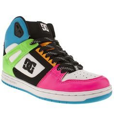 Women's Multi Dc shoe Co Rebound High Tops