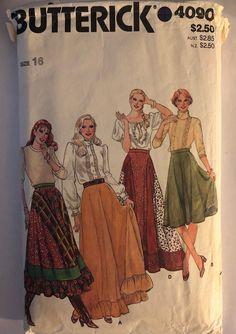 4734 UNCUT Vintage Butterick Pattern Misses Jumper SEWING OOP Fashion Essentials