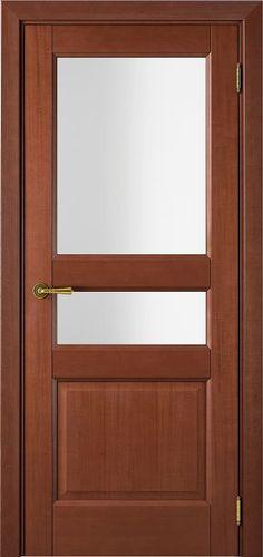 Sarto Interio NS 1232 Interior Door Satin Glass Anegry Chocolate