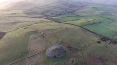 A bird's eye view of the Loughcrew Cairns on the day of the winter solstice - December All video captured using a DJI Phantom 4 drone. Solstice 2016, Winter Solstice, Phantom 4 Drone, Video Capture, Birds Eye View, Cairns, Sky, Animals, Animais