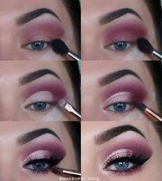 Make-up Tutorial Plum lila Flick blaue Augen Augen Make-up Tutorial Plum lila Flick blaue Augen . -Augen Make-up Tutorial Plum lila Flick blaue Augen . Eye Makeup Tips, Makeup Goals, Skin Makeup, Makeup Inspo, Makeup Inspiration, Makeup Brushes, Makeup Ideas, Plum Eye Makeup, Makeup Eyeshadow