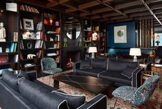 Tour Le Roch Hotel and Spa, Paris, a Member of Design Hotels™ with our photo gallery. Our Paris hotel photos will show you accommodations, public spaces & more. Hotel Le Roch Paris, Le Roch Hotel, Milan Hotel, Paris Hotels, Spa Hotel, Hotel Lounge, Lounge Sofa, Luxury Hotel Design, Luxury Spa