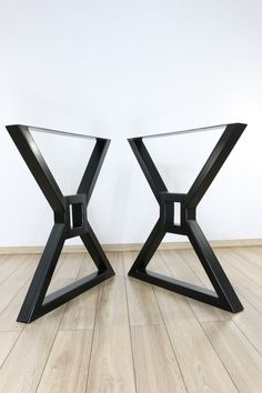 Steel Table Legs, Steel Dining Table, Dining Table Legs, Modern Dining Table, Rustic Table, Metal Furniture, Furniture Design, Kitchen Table Legs, Industrial Table Legs