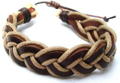 Make Your Own Gorgeous Beaded Braided Leather Bracelets | Leather ...