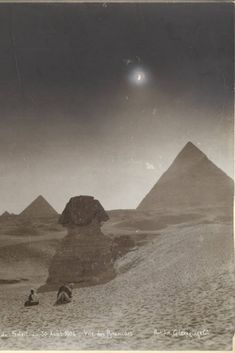 Sphinx, Giza, Solar Eclipse, Cairo, Ancient Egypt, Archaeology, Egyptian, Fighter Jets, Past