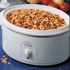 Crock pot: Chili Mac