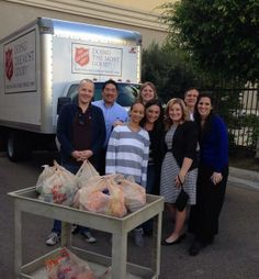 Sunrise Gives! We provided 150 meals today to the Salvation Army in San Diego!