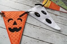Halloween Pennants - 2 Sizes! | What's New | Machine Embroidery Designs | SWAKembroidery.com East Coast Applique