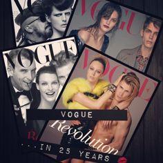 Vogue revolution ...25 years of fashion