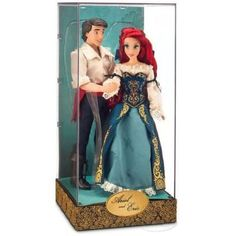 Buy Disney Designer Dolls Fairytale Collection Little Mermaid Ariel and Eric Set! This Designer Collection brings Ariel and Eric together in timeless embrace! Disney Collector Dolls, Disney Barbie Dolls, Ariel Doll, Disney Animator Doll, Disney Princess Fashion, Disney Princess Dolls, Little Mermaid Dresses, Ariel The Little Mermaid, Princesa Disney