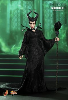 Hot Toys MMS Movie Masterpiece Disney 2014 Maleficent Angelina Jolie 1/6 Figure