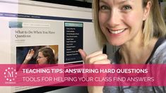 Hard Questions, This Or That Questions, Lds Sunday School, Young Women Lessons, Teaching Tips