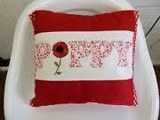 poppy cushions - Google Search